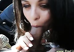 Teen dabbler pov blowjob old bag