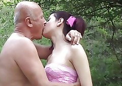 Grandpa sweet-talk teen went..