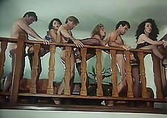 Retro Orgy down Christoper Clark
