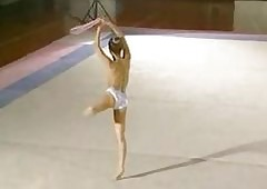 Japanese Stripped Gymnast