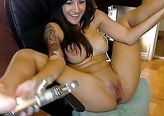 Webcam Soiled Dildo Inch a..
