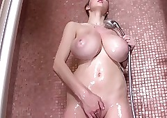 Enticing a shower