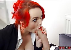 Redhead Floozy is Sweltering of..
