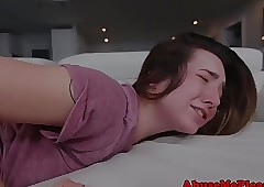 Teen gf deepthroated seem like..