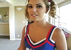 POV publish cute cheerleader