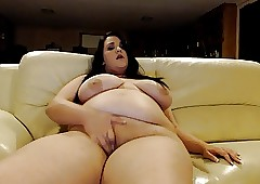 Muffinmaid bbw pussyplay