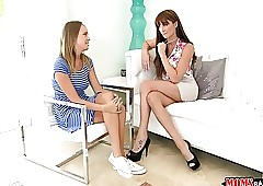 Moms Profitability Teen  - Milf gives..