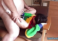Mini Jav Teen Okita Devoured..